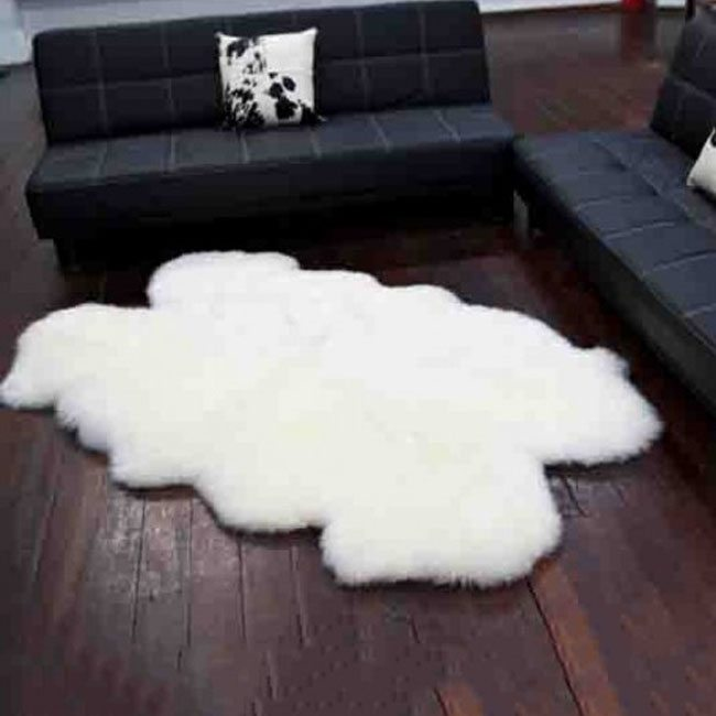 quad sheep skin rugs perth