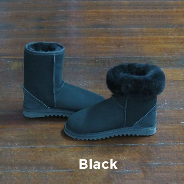 Black Ankle Ugg Boots Perth