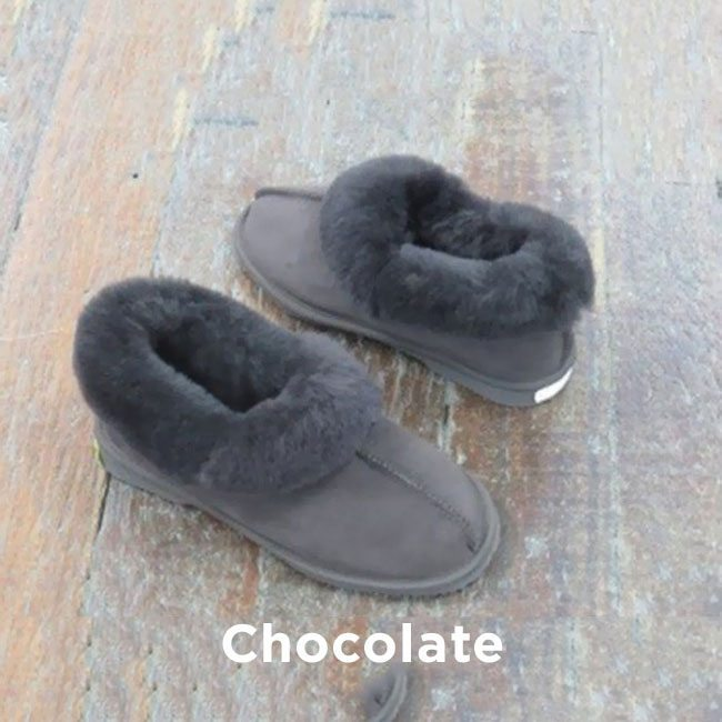 Chocolate Roal Slippers Perth