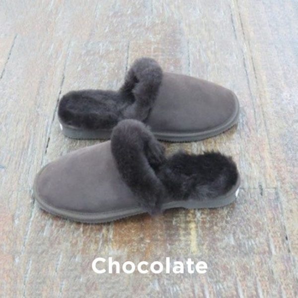 Chocolate Slipper Scuffs Perth