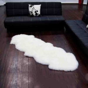 Double Sheepskin Rug Perth
