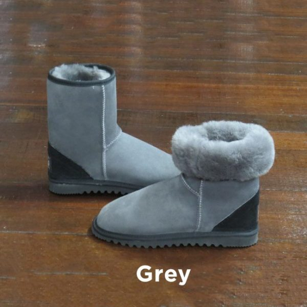 Grey Ankle Ugg Boots Perth