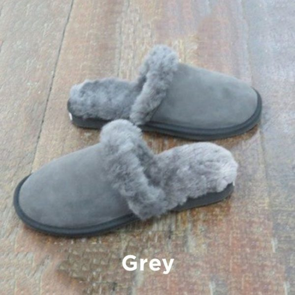 Grey Slipper Scuffs Perth