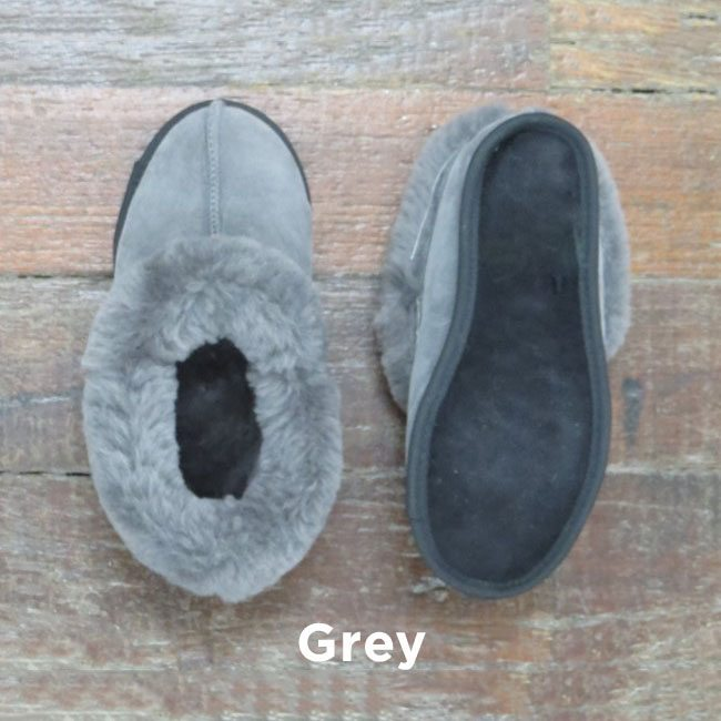 Grey Soft Sole Royal Slippers Perth