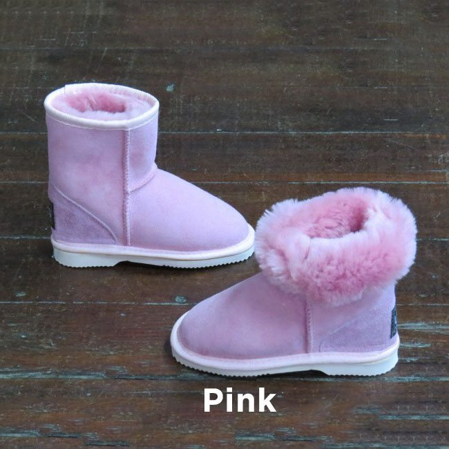Kids Pink Ankle Ugg Boots Perth