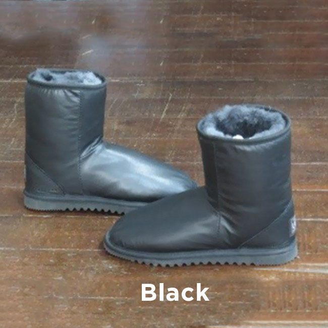Leather Black Ankle Boots Perth