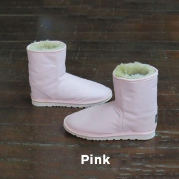 Leather Pink Ankle Boots Perth