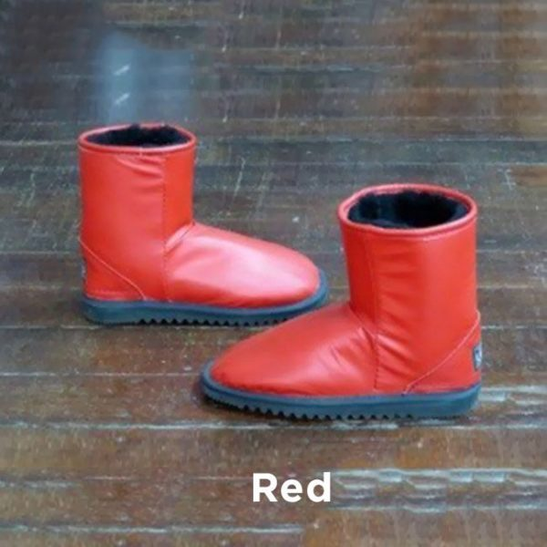 Leather Red Ankle Boots Perth
