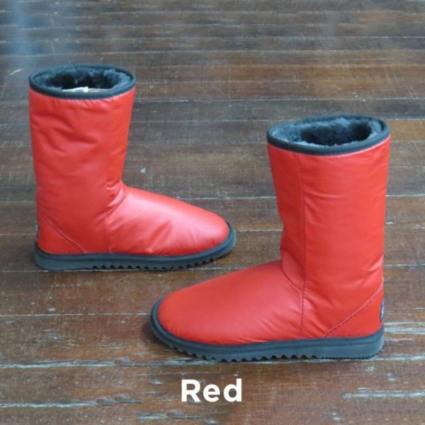 Leather Red Calf Boots Perth
