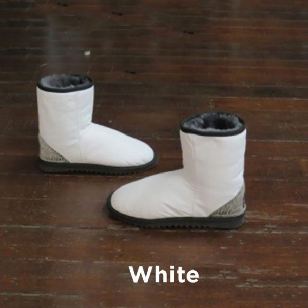 Leather White Ankle Boots Perth
