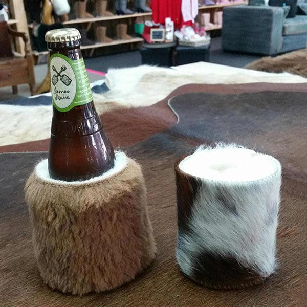 Stubby Holders Roo And Cow Hide