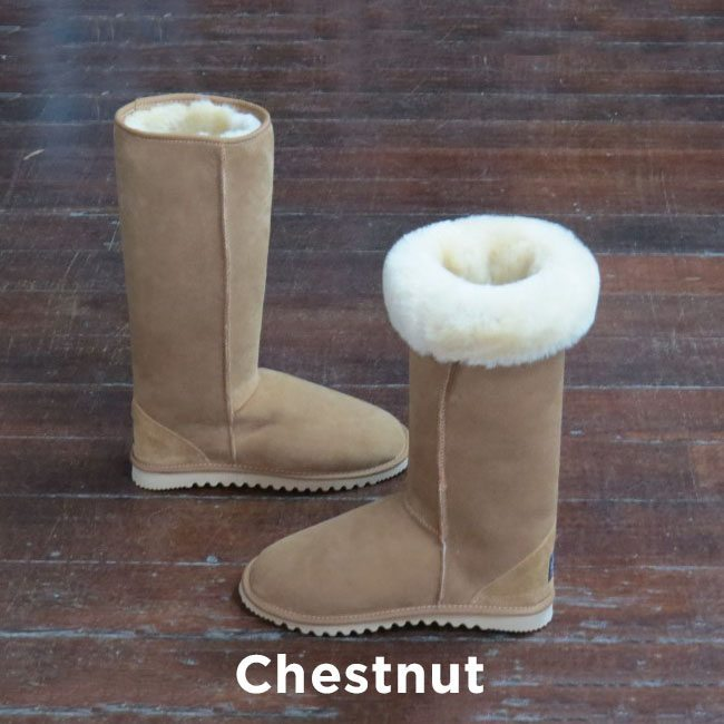 Tall Chestnut Ugg Boots Perth