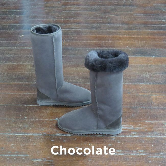 Tall Chocolate Ugg Boots Perth