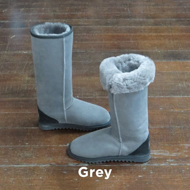 Tall Grey Ugg Boots Perth
