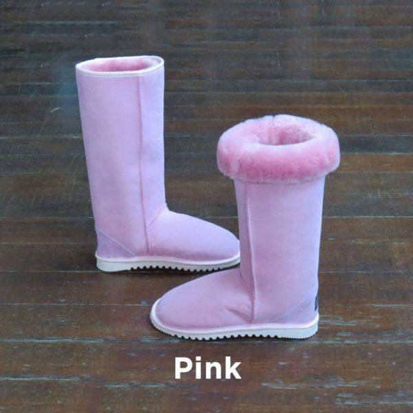 Tall Pink Ugg Boots Perth