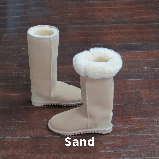 Tall Sand Ugg Boots Perth