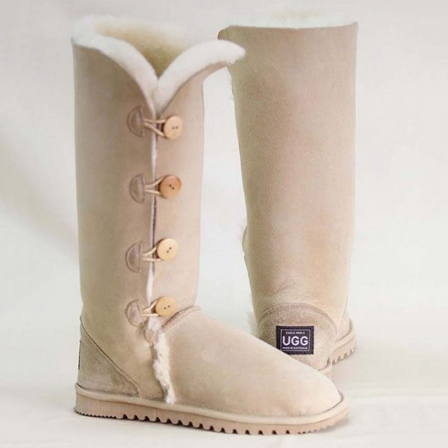 Button & Lace-Up Uggs