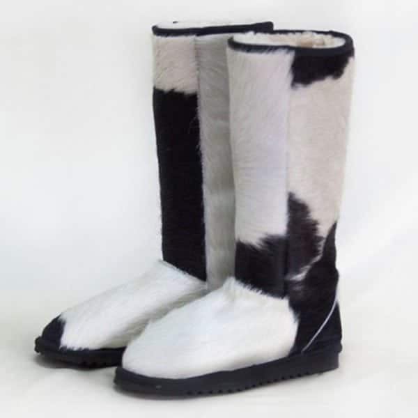 Tall cow hide ugg boots perth