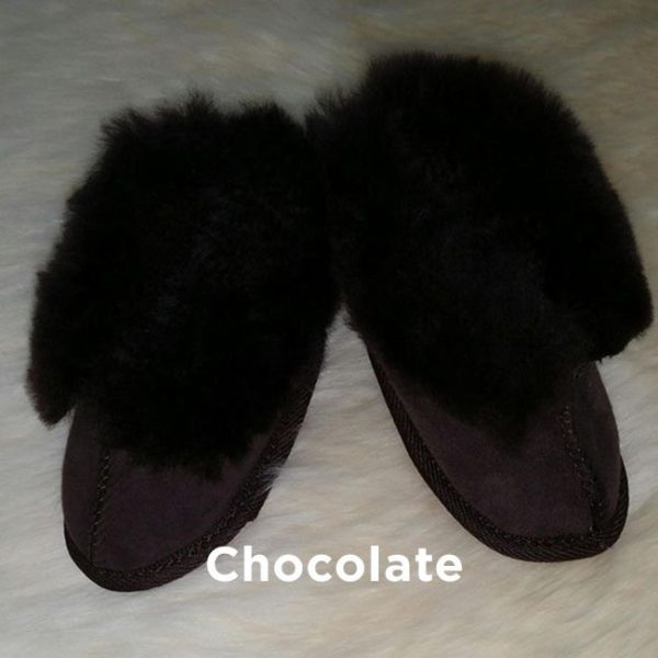 Chocolate Baby Booties Perth
