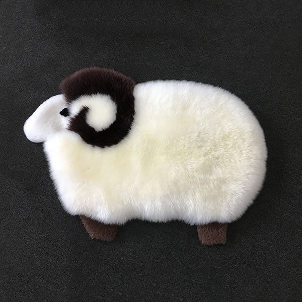Sheep mat with zip small