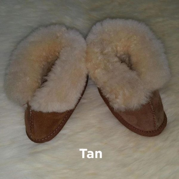 Tan Baby Booties Perth