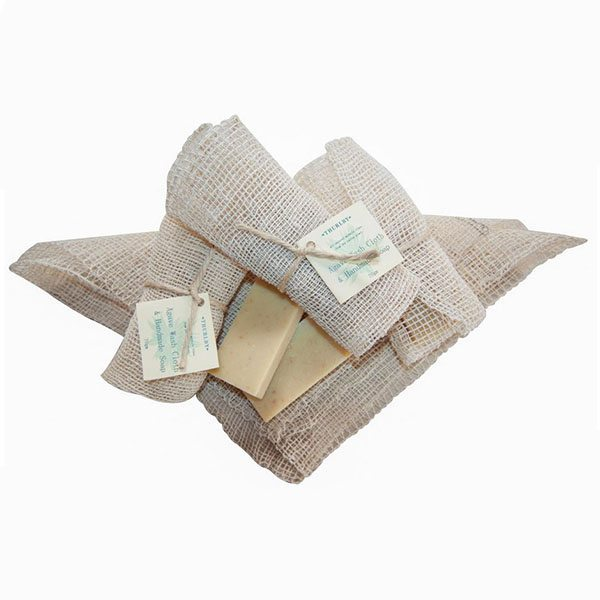 Thurlby - Wash cloth and soap1