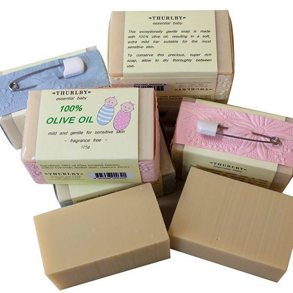 Thurlby - baby 100% olive oil soap