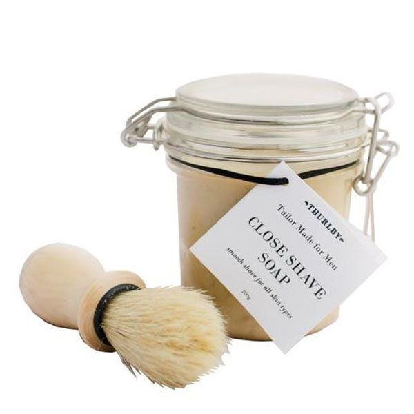 Thurlby - close shave soap1
