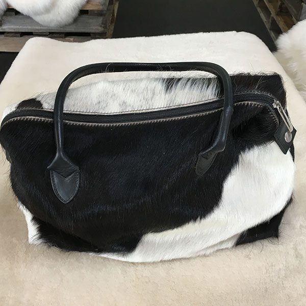 cow hide bag