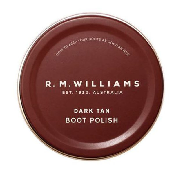 dark Tan boot polish
