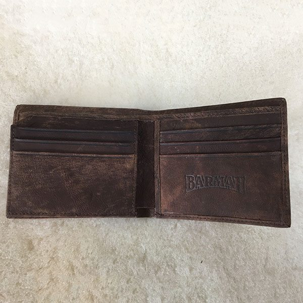 kangaroo wallet brown