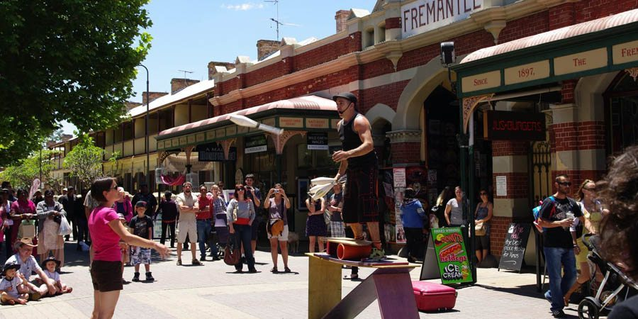 Fremantle Things to do itn PEth with Tourists