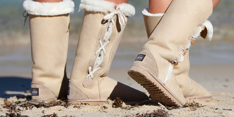 knee high lace up ugg boots perth
