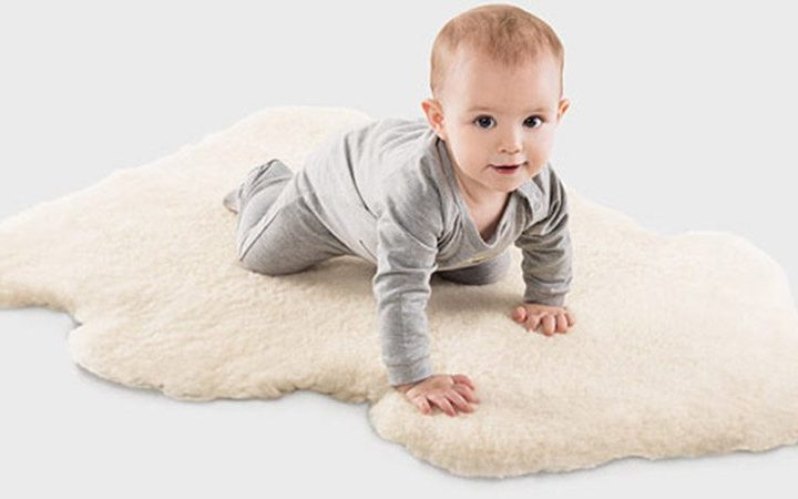 The Benefits of Sheepskin Rugs for Babies