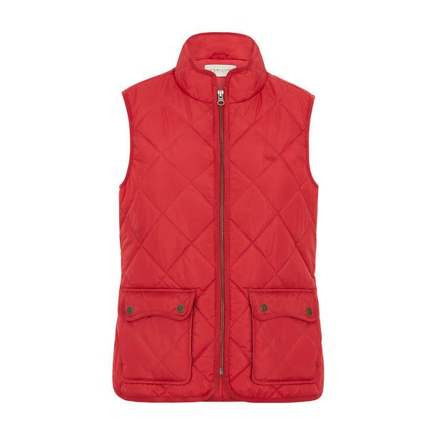 R.m Williams Ladies Quilted Riding Vest Eagle Wools