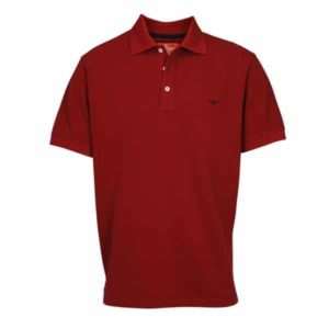 R.m Williams Polo Shirt Red Eagle Wools
