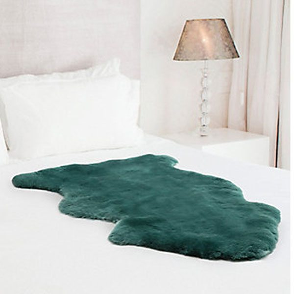 Eaglewools Green Sheepskin Rugs