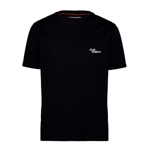 R.m Williams Byron T Shirt Black Eagle Wools