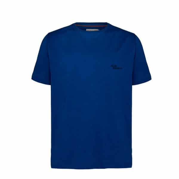R.m Williams Byron T Shirt Blue Eagle Wools