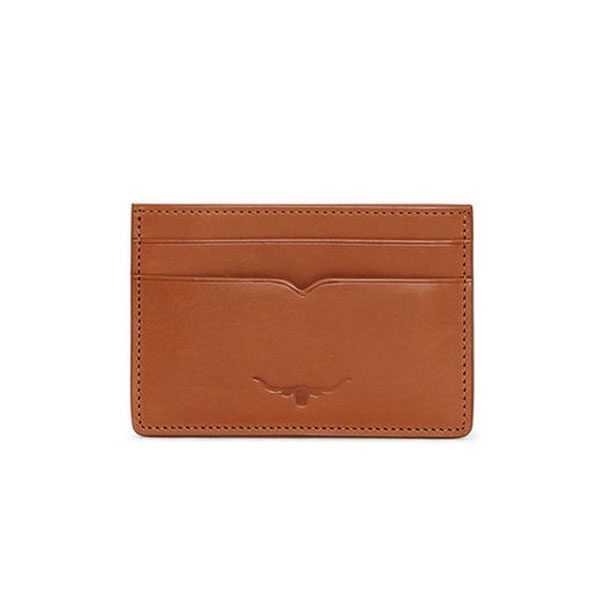 R.m Williams Credit Card Holder Tan Eagle Wools