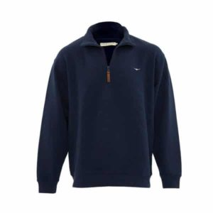 R.m Williams Mulyungarie Top Navy Eagle Wools