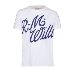 R.m Williams Tama T Shirt White Eagle Wools
