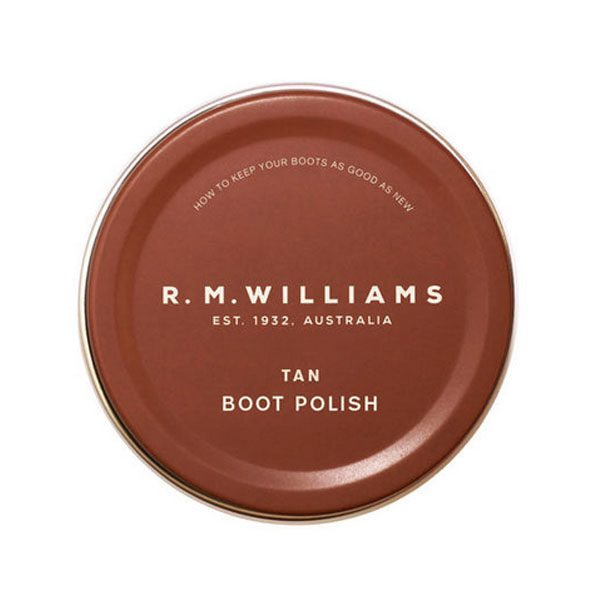R.m Williams Tan Boot Polish Eagle Wools