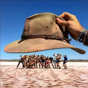 Akubra Hat And People