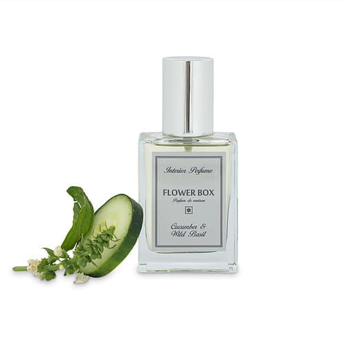 Flower Box Interior Perfume Cucumber And Wild Basil
