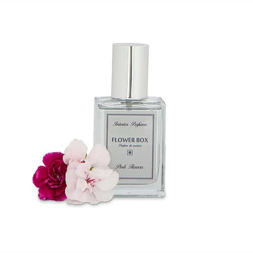 Flower Box Interior Perfume Pink Flowers