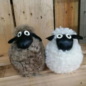 Shaun The Sheep White And Brown